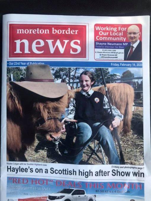 Moreton Border News
